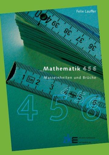Mathematik 456 – Masseinheiten und Brüche, Verlag ZKM