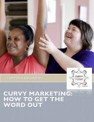 CURVY MARKETING: HOW TO GET THE WORD OUT - Curvy Yoga