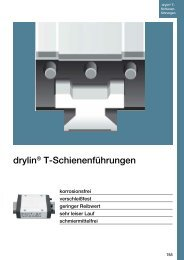 drylin® T-Schienenführungen - Igus