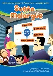 Revista Pem Ranquil Norte - Plan Estratégico de Malargüe