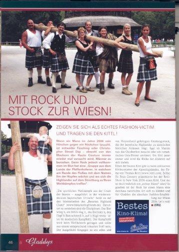 Gladdys Magazin 08.2006