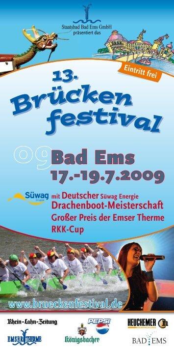 Brücken festiva l 13. - Bad Emser Brückenfestival
