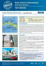 Cuba Family Discovery 11 Day hotel tour - Adventure Holidays