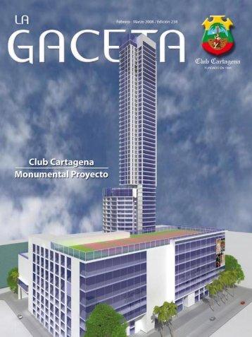 La Gaceta 246 | Febrero - Marzo de 2008 - Club Cartagena