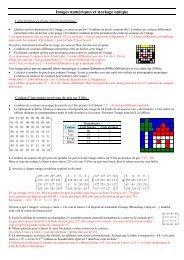 Images numériques et stockage optique - Webnode