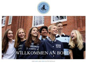 WILLKOMMEN AN BORD! - Gymnasium Blankenese