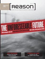 Reason - Issue 3: 2011 (September) - Strategic RISK