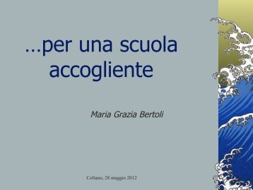 Maria Grazia Bertoli