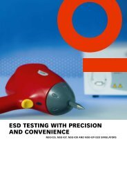 esd testing with precision and convenience