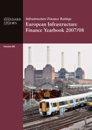 European Infrastructure Finance Yearbook - Investing In Bonds ...