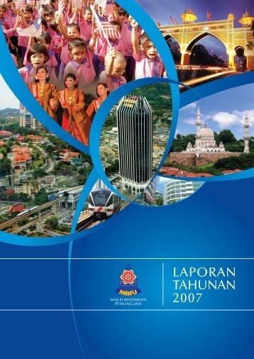 laporan tahunan 2007 - Majlis Bandaraya Petaling Jaya Aduan Online