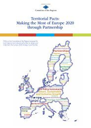 Territorial Pacts: Making the Most of Europe 2020 ... - Sign In - Europa