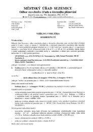 Veřejná vyhláška - umístění stavby - VP Invest - Rokytno