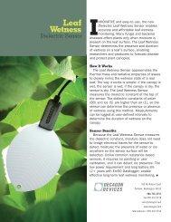 Leaf Wetness Sensor