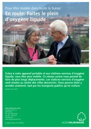 Liste des stations-services - Ligue pulmonaire