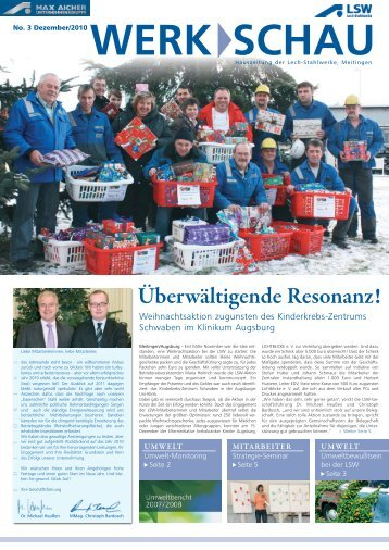 werk schau - LSW Lech Stahlwerke GmbH