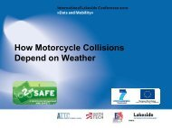 How Motorcycle Accidents Depend on Weather - Lakeside Conference