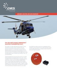 cpi-406 deployable emergency locator transmitter - DRS Technologies
