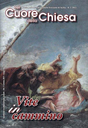 rivista n. 1/2011 (pdf) - Carmelitani Scalzi di Sicilia