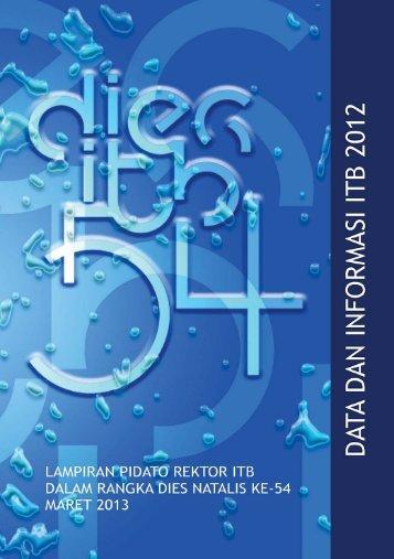 Buku Data dan Informasi ITB 2012