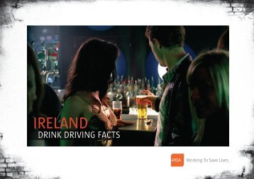 Ireland - Drink Driving Facts (5mb PDF) - Road Safety Authority