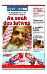 Fr-30-07-2013 - Algérie news quotidien national d'information