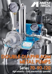 dOUBLE dIaPHRaGM MEtaL PUMPs - Anest Iwata