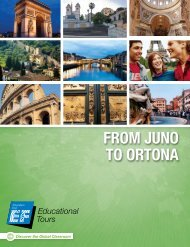 From Juno to ortona - EF Educational Tours