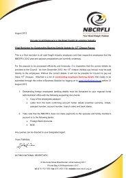 Final Reminder for Outstanding Banking Details ... - nbcrfli.org.za