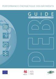 guide PEB - Portail de l'énergie en Région wallonne