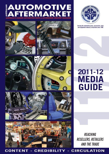 2011-12 media guide - Australian Automotive Aftermarket Magazine