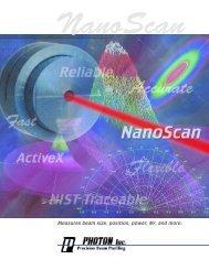 nanoscan brochure 06-7.qxp - Photonic Sourcing