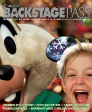 holidays at the resort spotlight offers candlelight event passholder ...