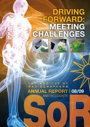 driving forward: meeting challenges - Society of Radiographers