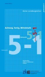 Achtung, fertig, Mittelstufe Mathematik 5-1