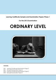 ORDINARY LEVEL - Project Maths
