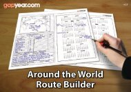 Around the World Route Builder - Gapyear.com