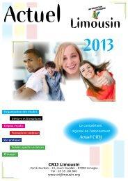 liste complète des titres pour 2013 - (CRIJ) Limousin