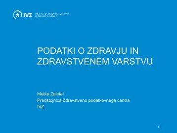agregirani podatki - IVZ RS