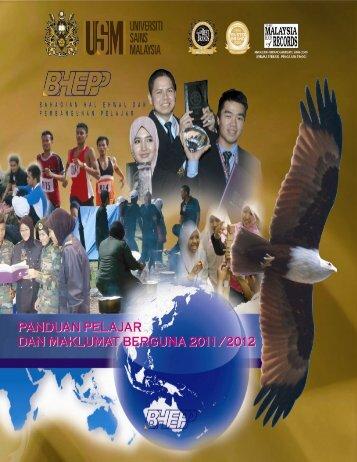 Panduan Pelajar Bagi Sidang Akademik 2011/2012 - Jabatan ...