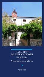 Catálogo de publicaciones - Ayuntamiento de Motril