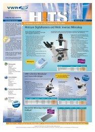 Moticam Digitalkamera und Motic inverses Mikroskop - Vwr-cmd.com