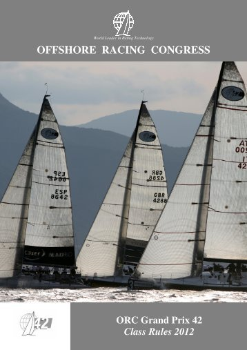 ORC GP 42 Class Rules - Offshore Racing Council