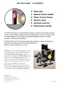 RHP SELF-LUBE® – HLT INSERTS - Page 2