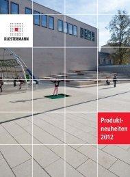 Produkt- neuheiten 2012 - Klostermann