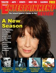 A New Season - Inland Entertainment Review Magazine