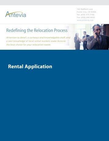 Rental Application (49k) - Antevia