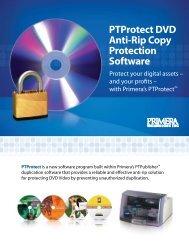 PTProtect DVD Anti-Rip Copy Protection Software - Primera