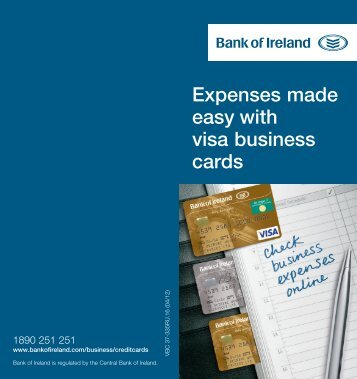 Expenses made easy with visa business cards business banking reheart Images