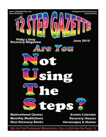 June 2010 - 12 Step Gazette